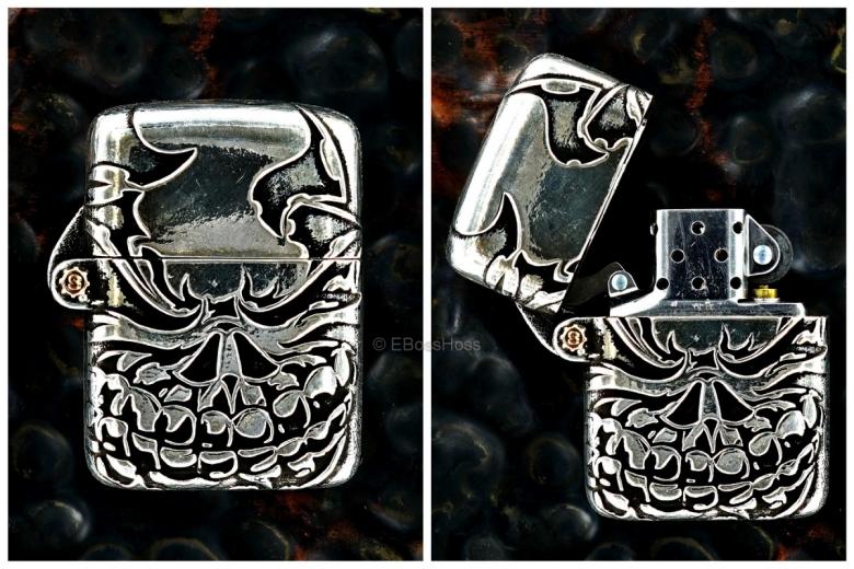 Starlingear Custom Cast Sterling-Silver Slickster Lighter