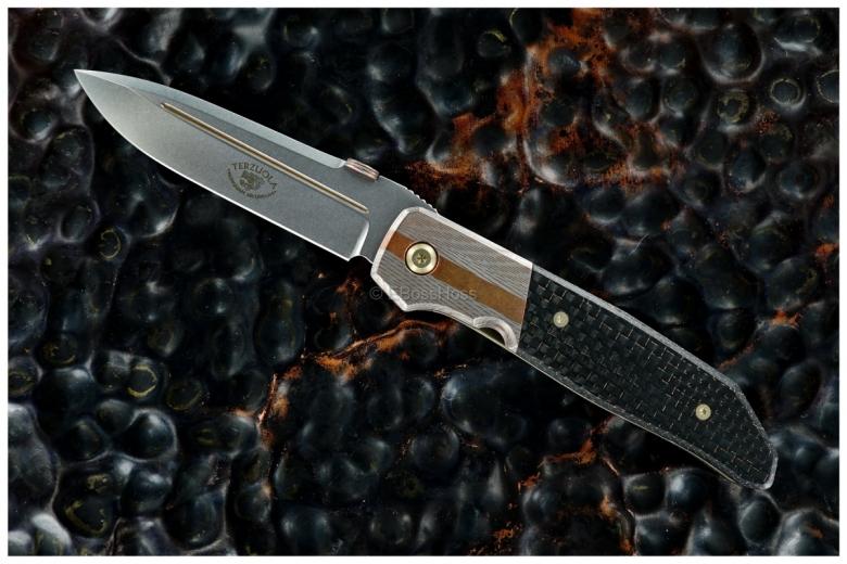Bob Terzoula Custom Deluxe 1-Off Mid-sized Athena Flicker