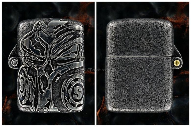 Starlingear Custom Cast Sterling Silver Gasser Lighter