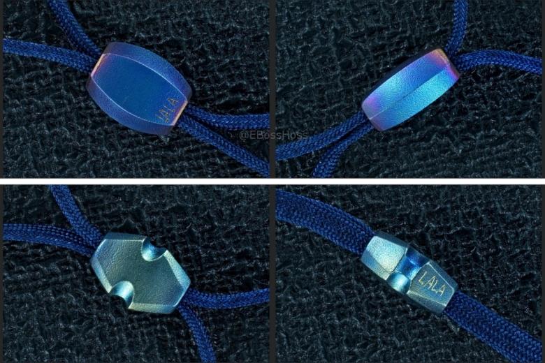 2 Rick Lala (Korth) Hand-ground Titanium Beads
