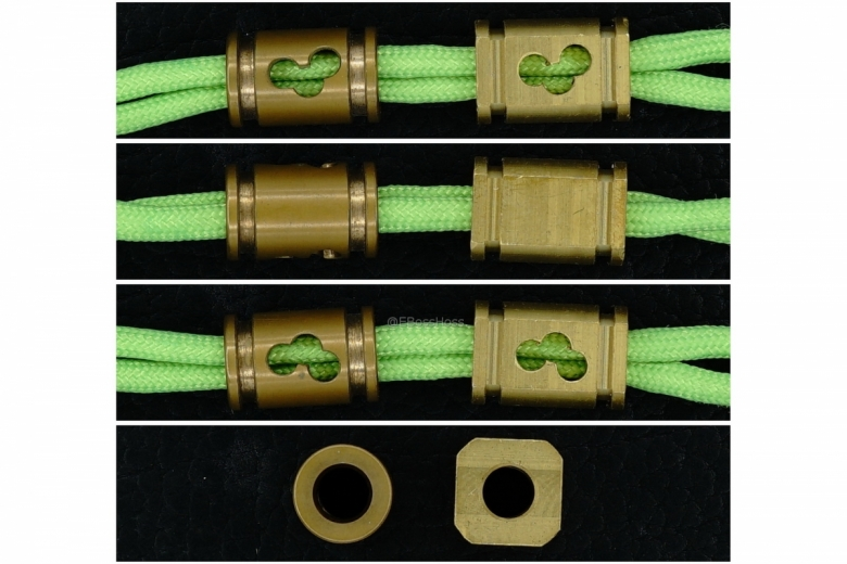 76 Designs (aka Joseph76) Brass MOA Beads