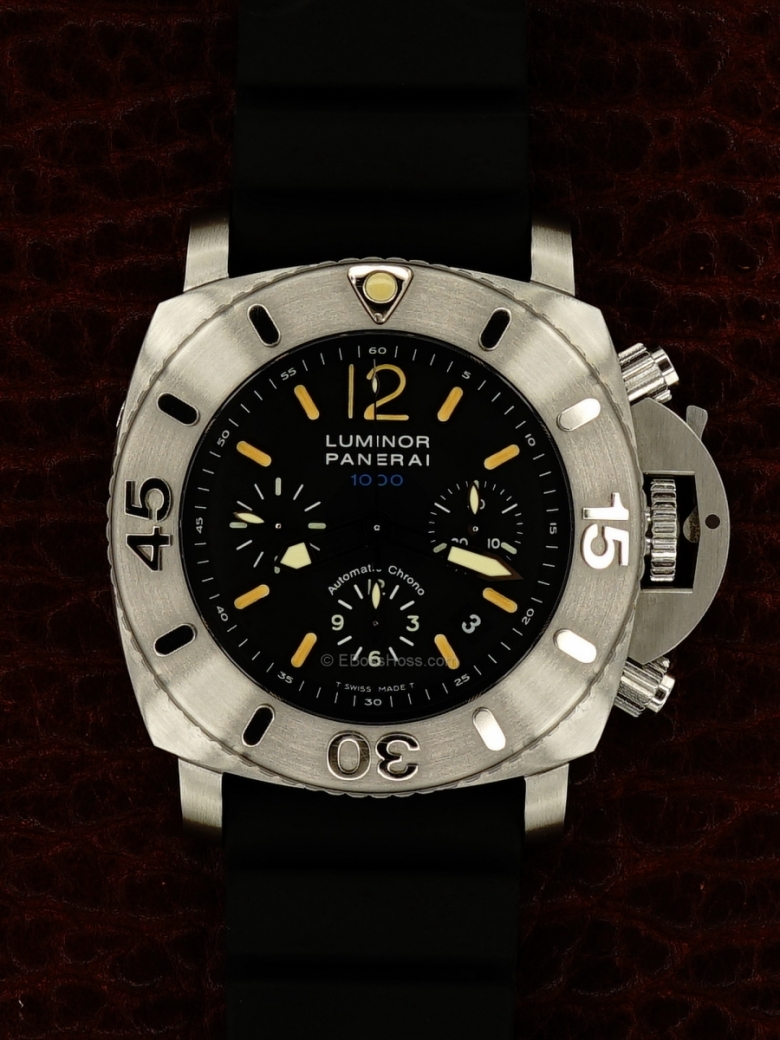 Panerai (Officine Panerai) 187 LUMINOR Submersible Chrono 1000 - 47MM PAM00187
