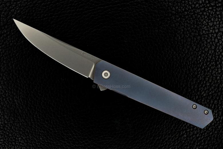Lucas Burnley Custom Kwaiken Framelock Flipper