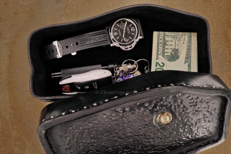 Custom Leather Valet by Starlingear's Greg Everett, Leathersmith