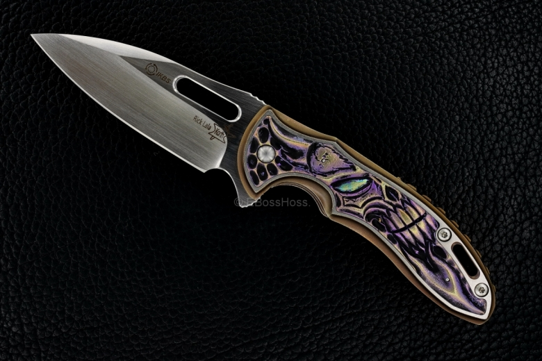 Rick Lala (Korth) Custom Carved Sentry Flipper - Carved by Rudy Lala