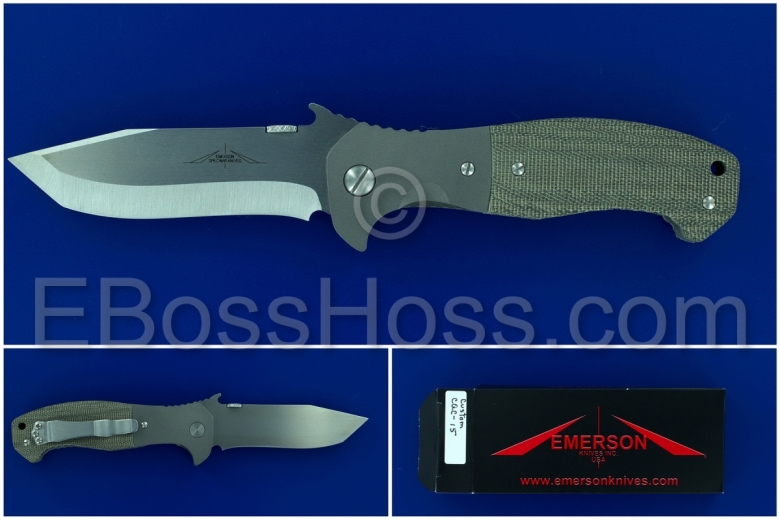 Ernie Emerson Custom CQC-15