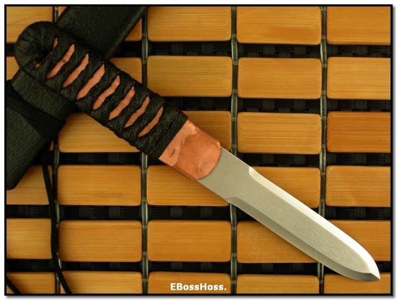 Phill Hartsfield Double-Ground Copper Dagger