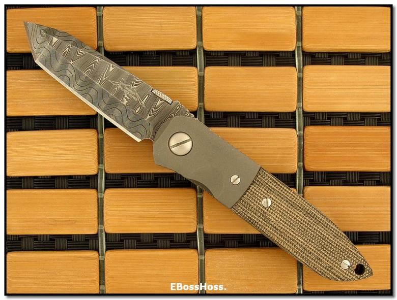 Ernie Emerson Custom CQC-5 Damascus