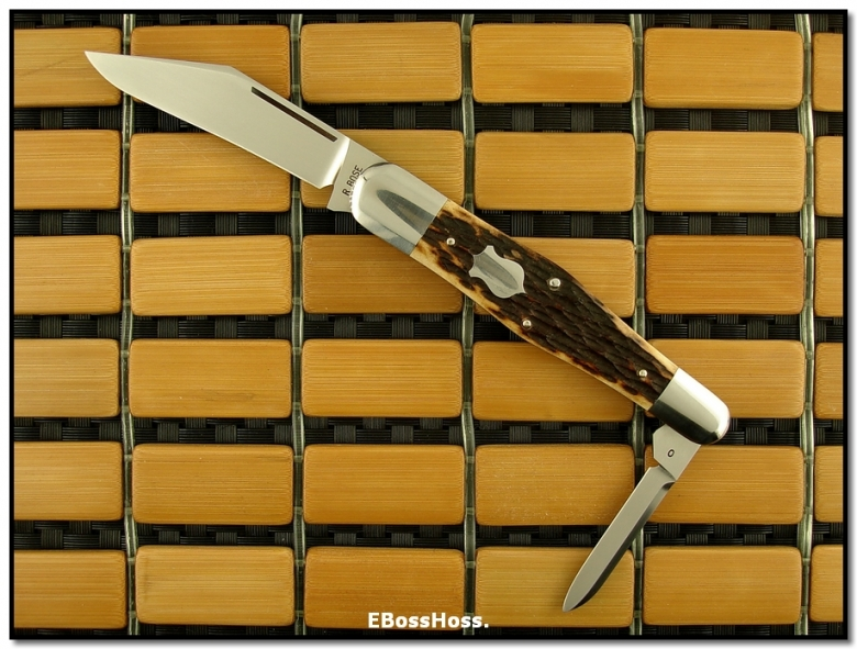 Reese Bose Northfield Half (2-Blade) Whittler Prototype (#0)