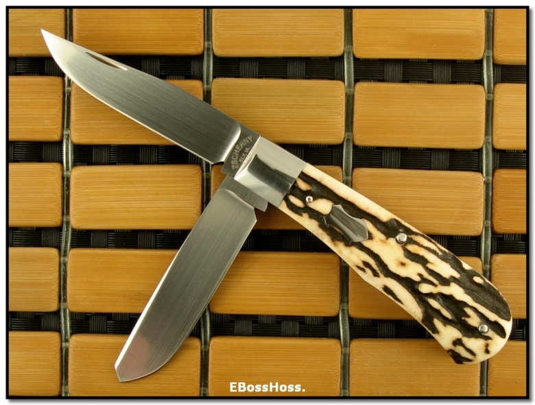 Mike Zscherny 2-Bladed Stag Trapper