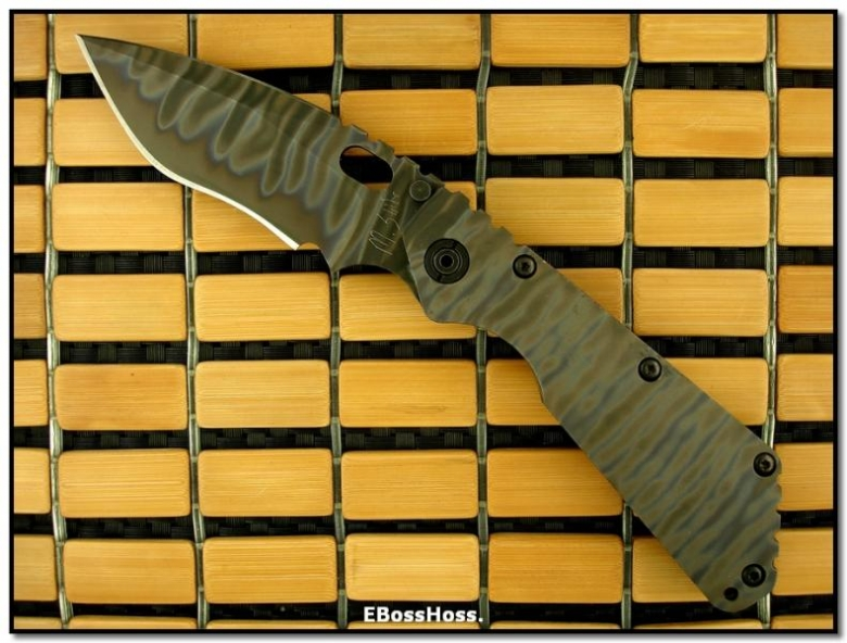 Mick Strider MSC All-Titanium All-Flamed XL SnG