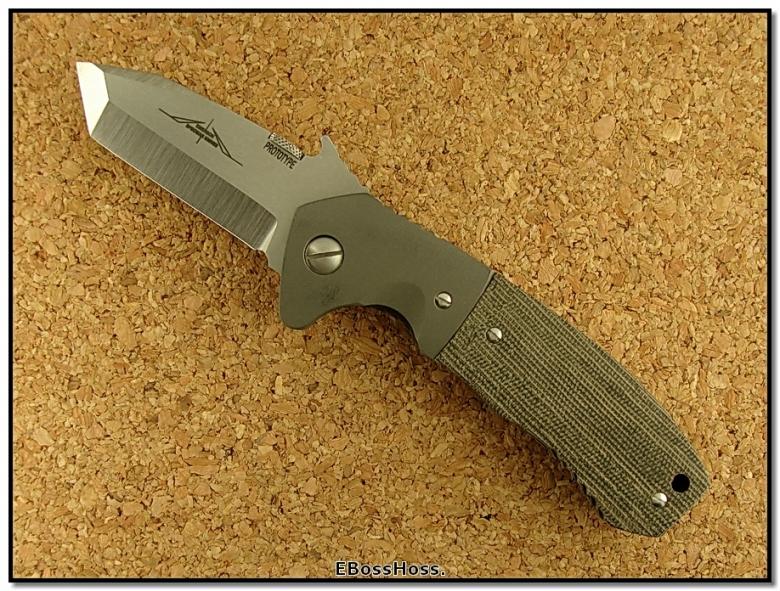 Ernie Emerson Custom CQC-14 Tanto Prototype