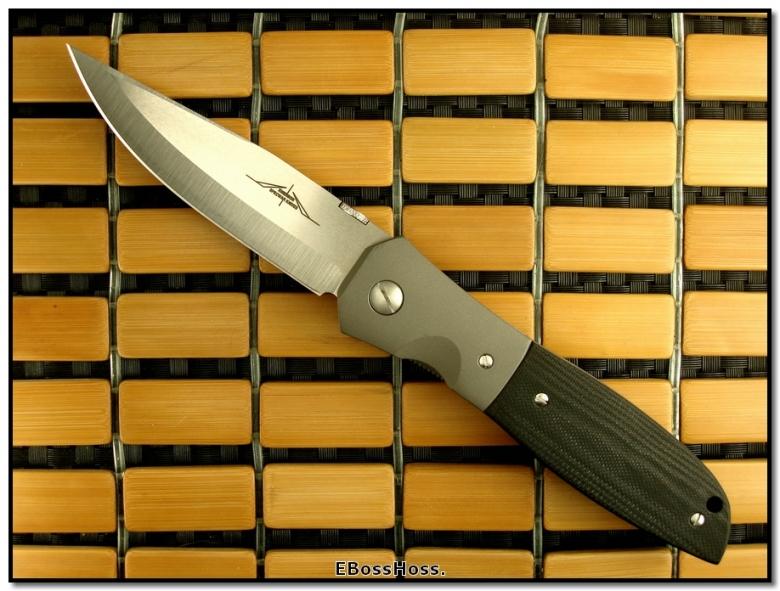 Ernie Emerson MV-3 (aka Viper 3) w/Black Scales