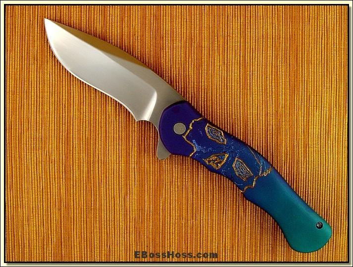 Matt Cucchiara Large Engraved Flipper