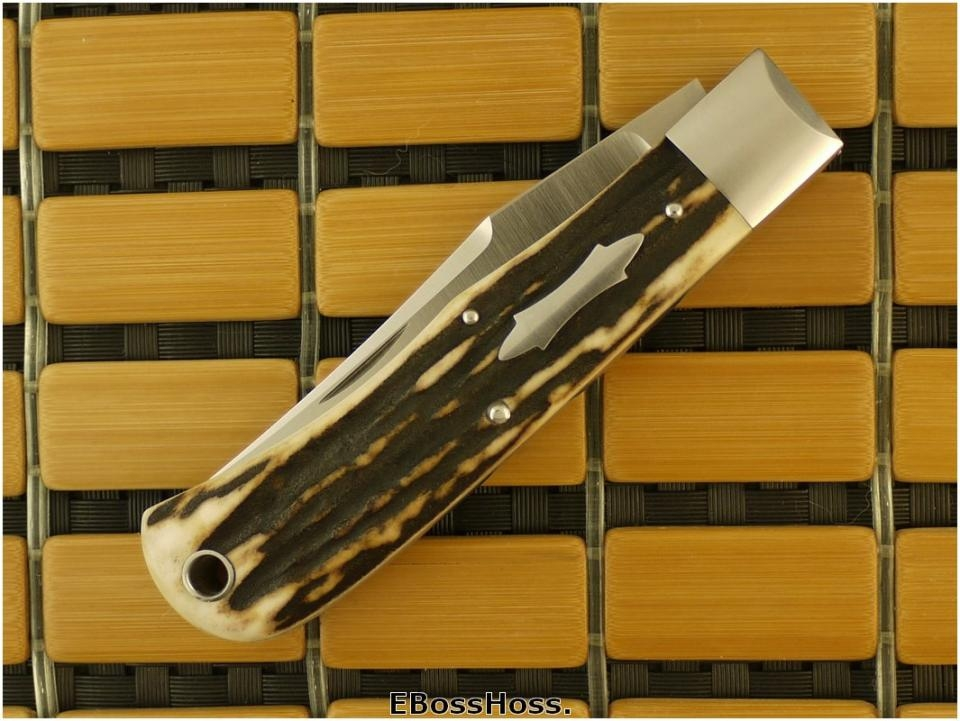 Tony Bose Stag Back Pocket (4 1/2 inch Closed)