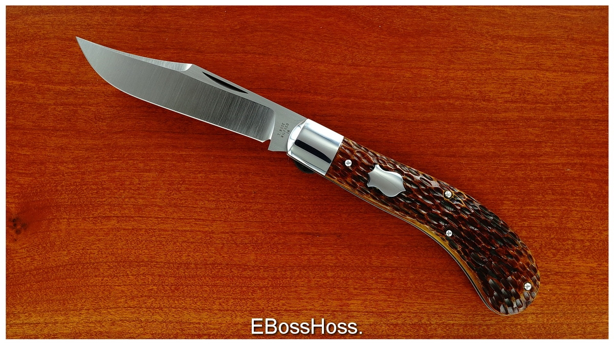 Tony Bose 4.25-inch Single-blade Saddlehorn