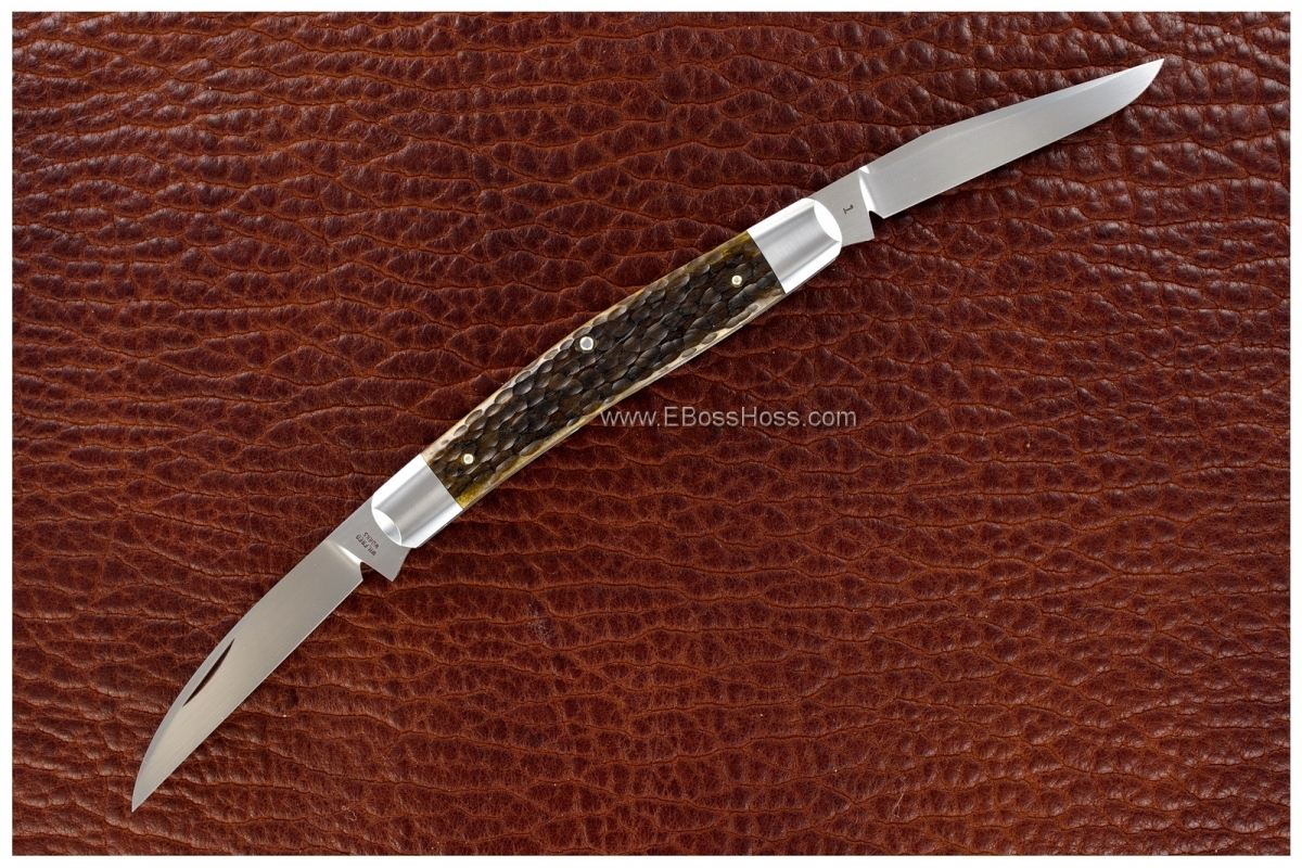 Reese Bose Custom 4-inch Muskrat Slip Joint Knife
