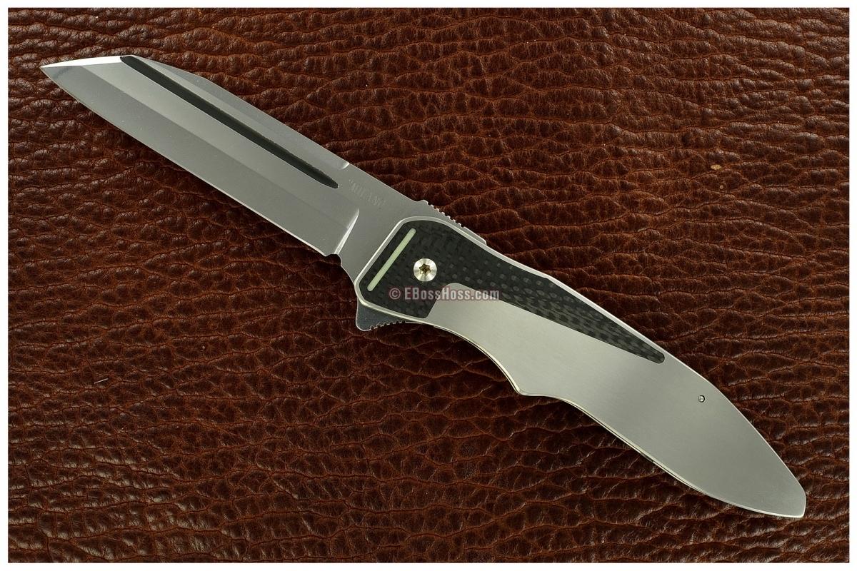 Bob Terzoula / Gus Cecchini Milano Flipper (Collaboration Knife)