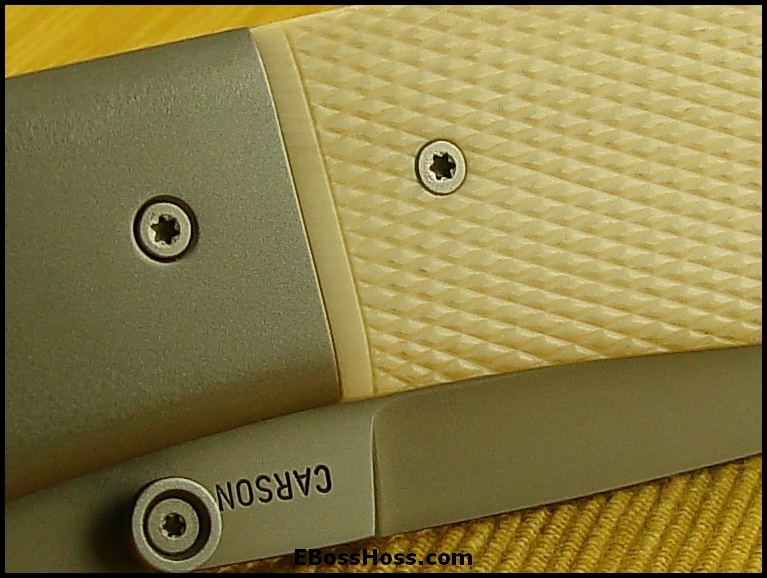 Kit Carson Checkered Ivory Deluxe Model 4