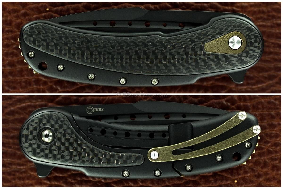 Todd Begg Black - Gold Bodega Flipper