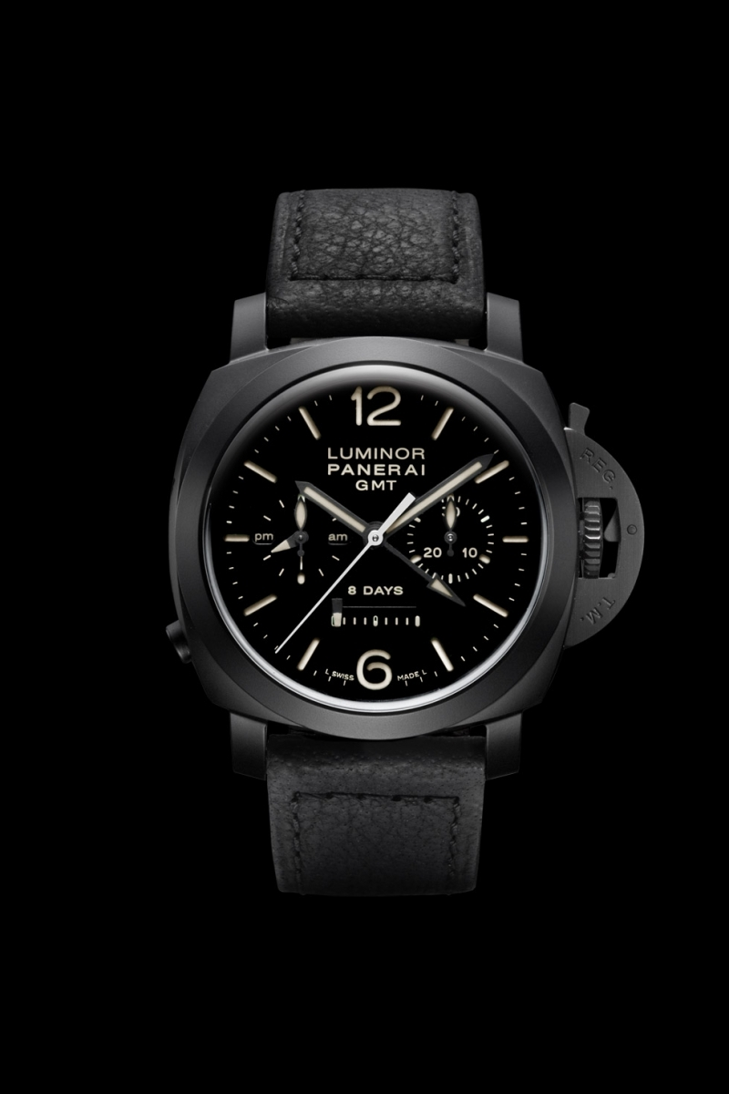 Panerai (Officine Panerai) PAM 00317 - Luminor 1950 Chrono Monopulsante 8 Days GMT Ceramica
