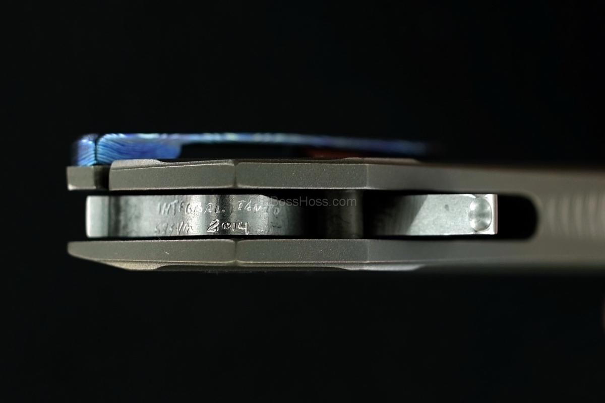 Gustavo Cecchini (GTC Knives) Custom Integral Tanto Flipper