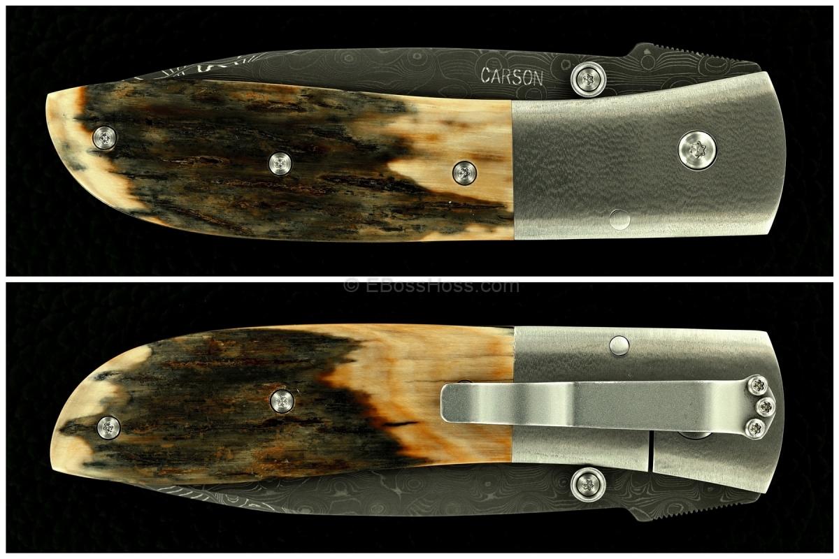 Kit Carson Deluxe Bolsterlock Med Model 4