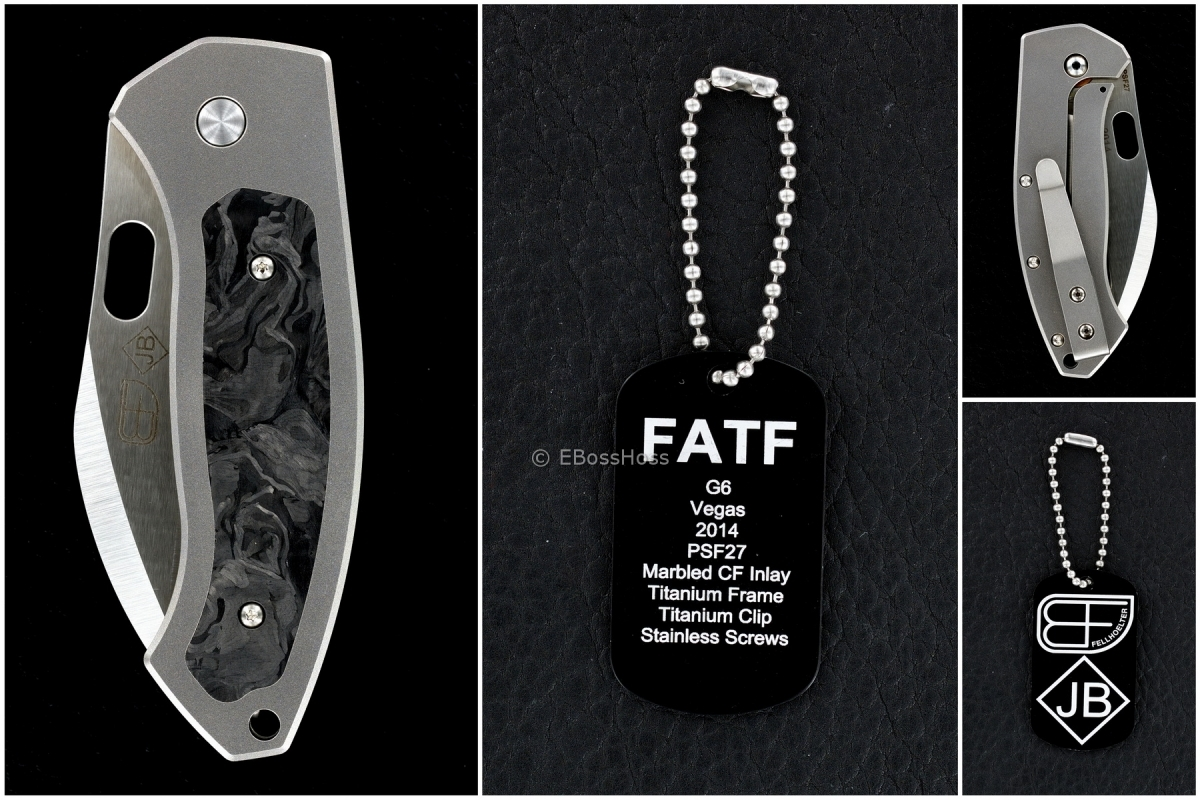 Jim Burke / Brian Fellhoelter Custom Collab FATF