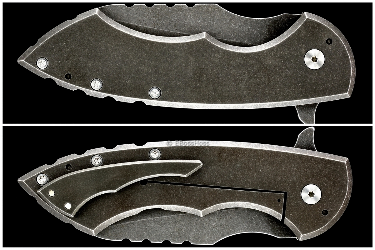 Brad Blount (JBB Knives) Custom Killowatt Flipper