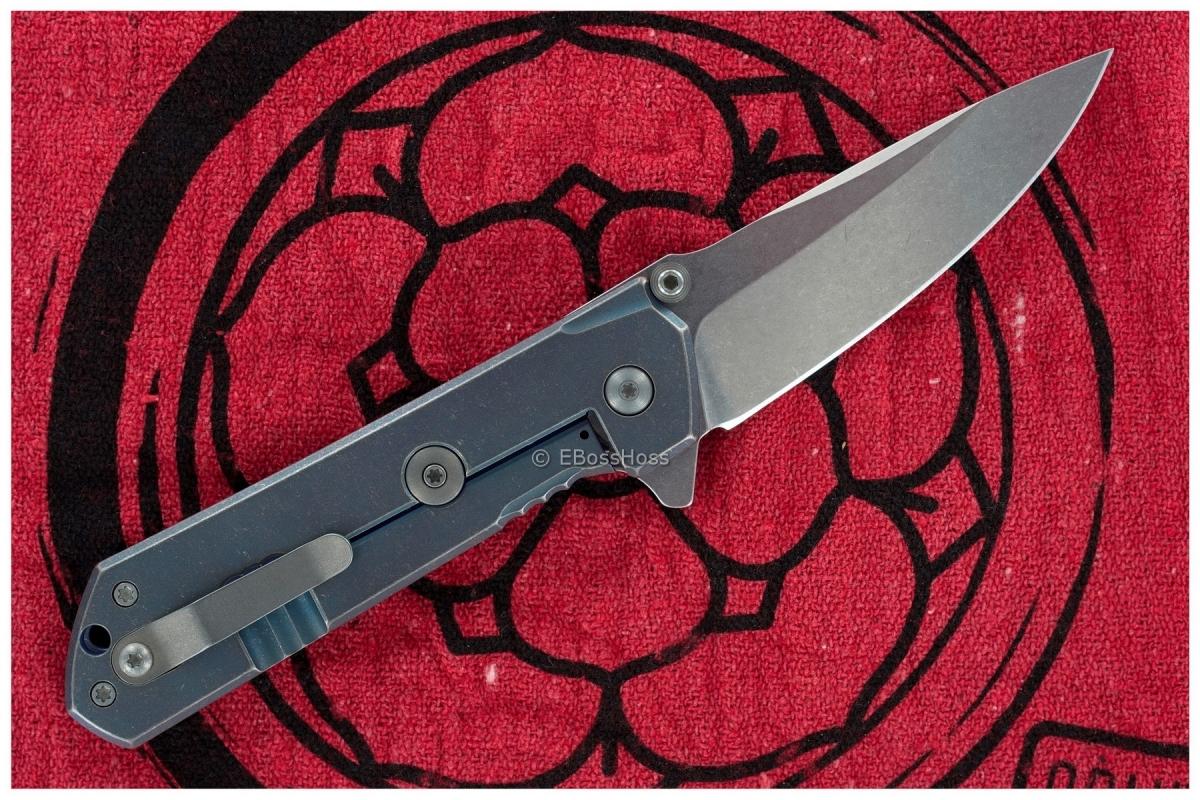 Burnly (Burnley Knives) Midtech Kihon Flipper