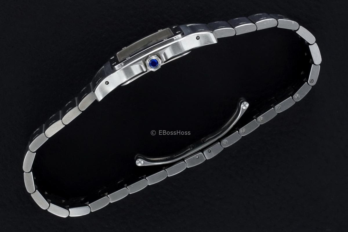 Cartier Curved Large Santos De Cartier - Model No. W20060D6
