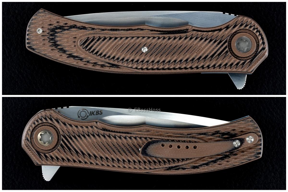A2 Knives (by Andre Thorburn & Andre Van Heerden) Custom Model A4 Flipper