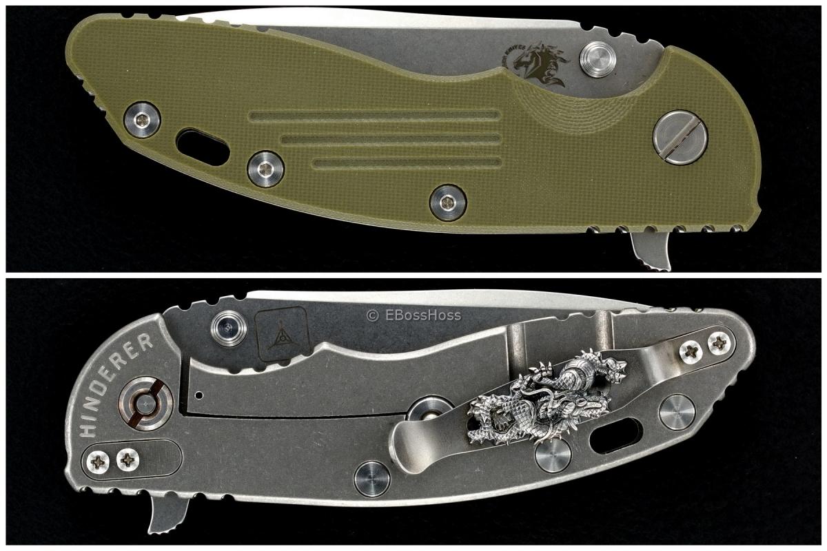 Hinderer TADGear Gen 4 XM-18 Spanto Flipper