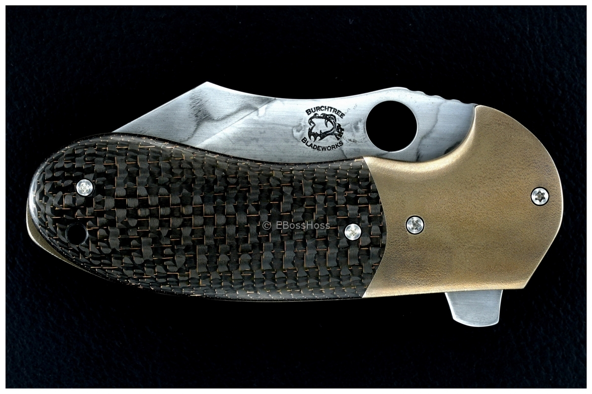 Michael Burch Custom Deluxe Platypus Flipper