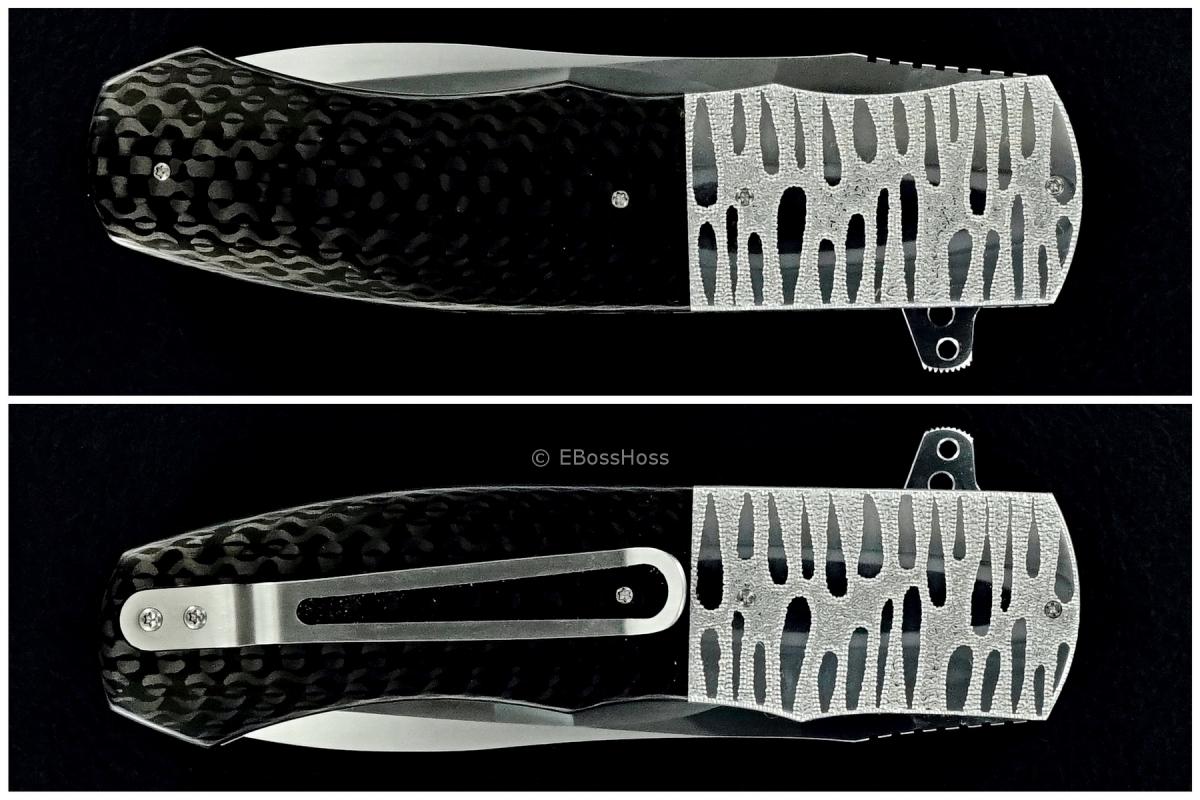 Andre Thorburn Deluxe Engraved Model L44 Flipper