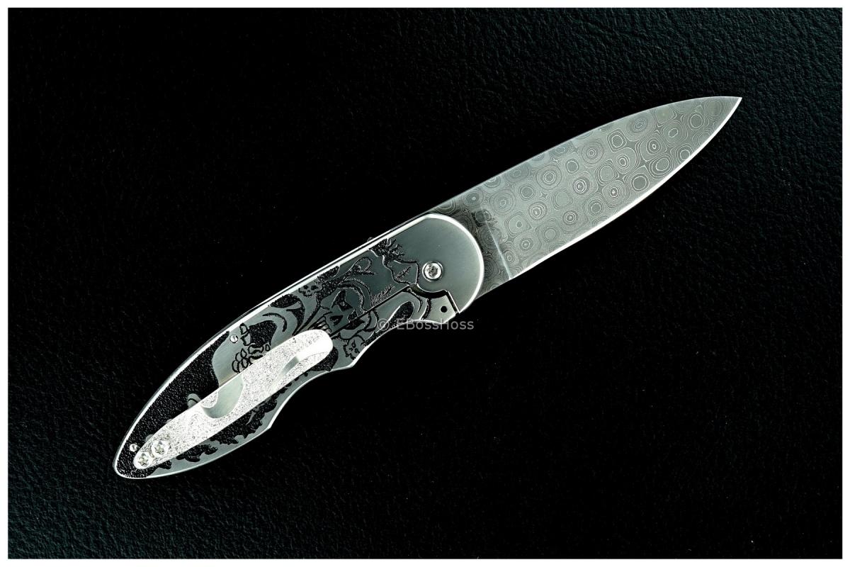 J.L. (Lee) Williams Custom Carved Kickstop Flipper