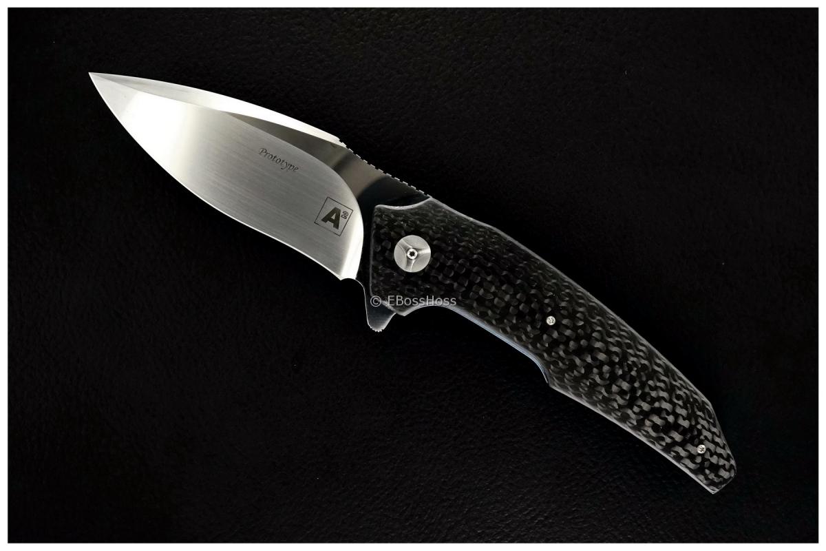 A2 Knives (by Andre Thorburn & Andre van Heerden) Custom A6 Flipper Prototype