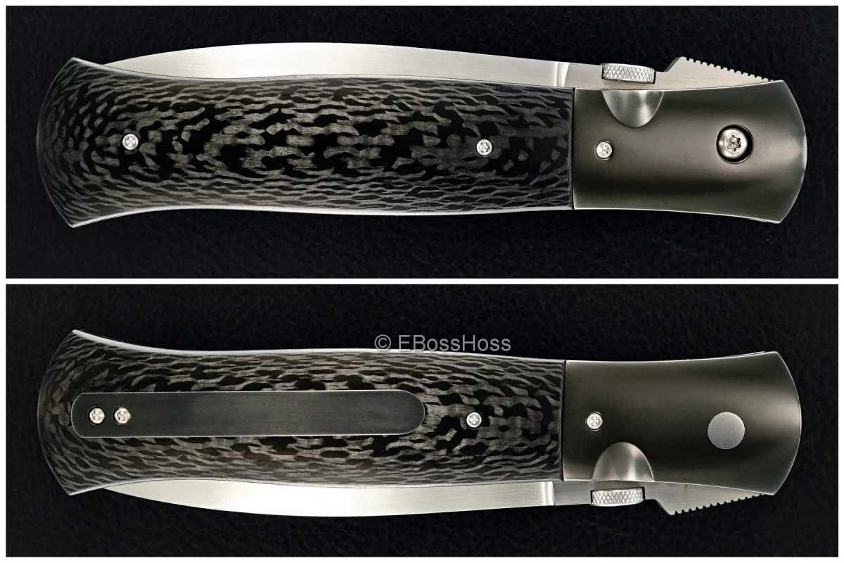 John W. Smith Custom Deluxe 4-inch Dagger Flicker