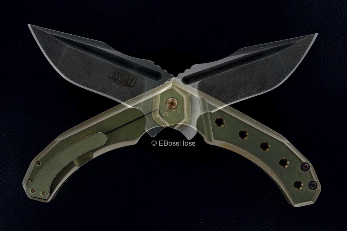 JB Stout Custom Ash & Torment Flipper