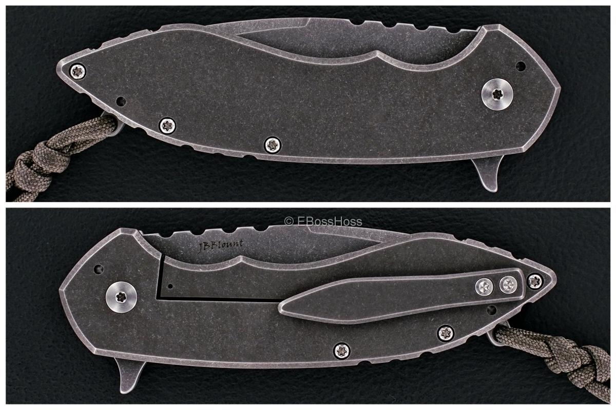 Brad Blount (JBB Knives) Custom Large Surge Flipper