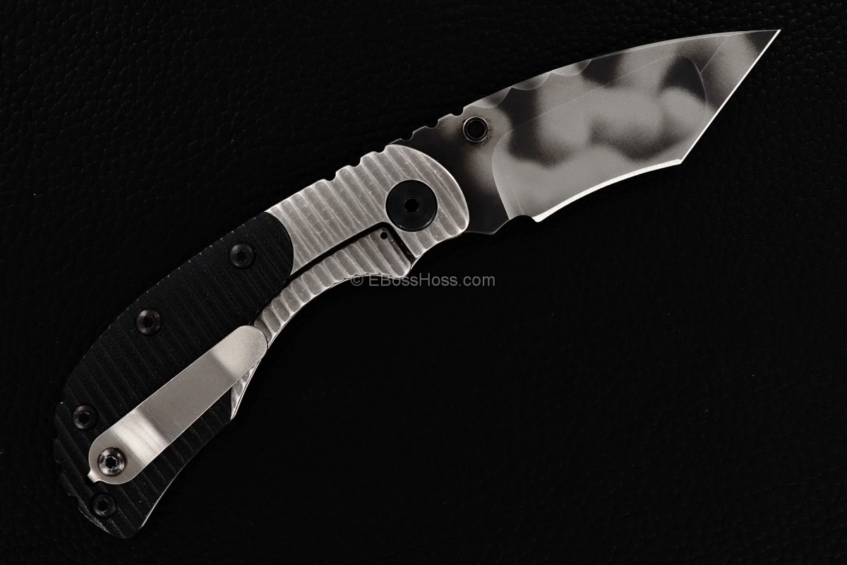 Mick Strider Custom (MSC) Bolstered Nightmare Recurve Tanto RCC Flicker