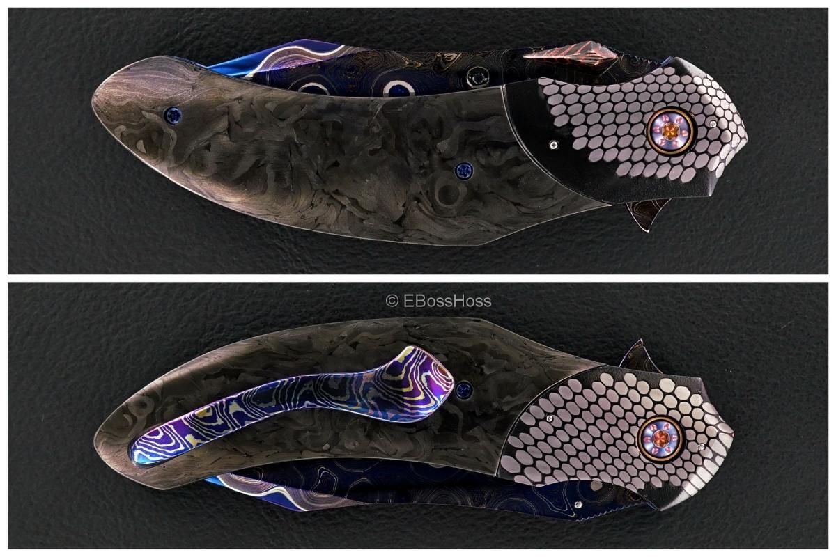 Peter Martin Deluxe Custom Large QSB Flipper - Reaper Edition