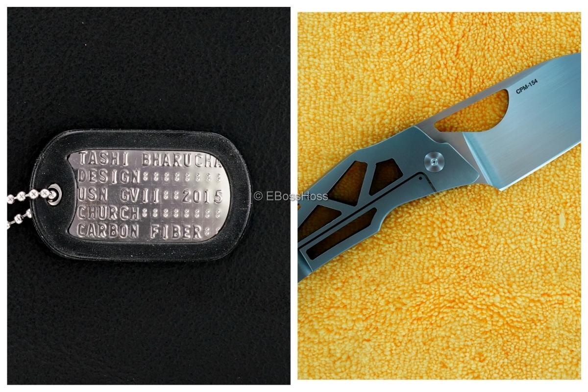Tashi Bharucha Custom - Church Knife