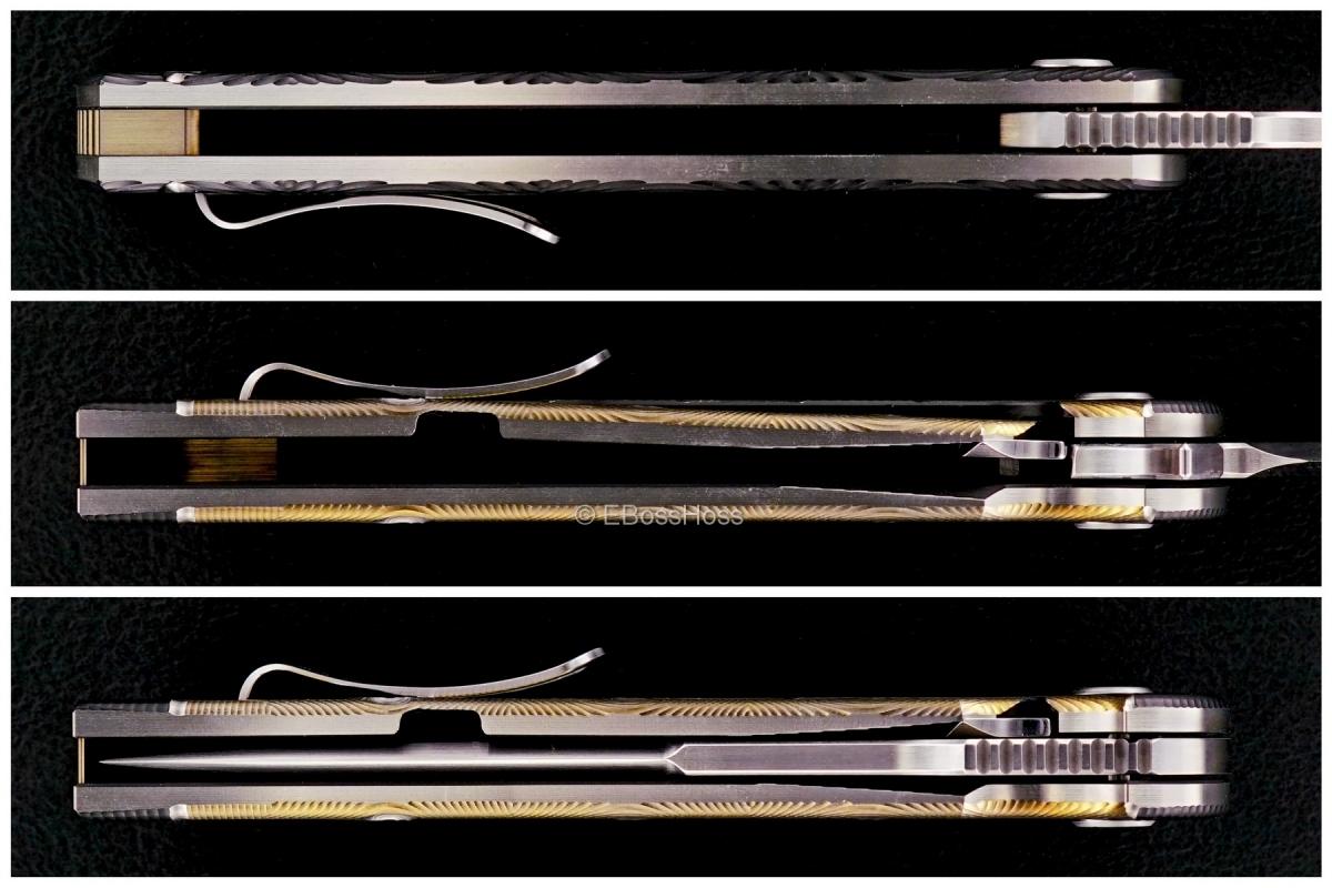 Brian Nadeau (Sharp By Design) Custom Hurricane Flipper