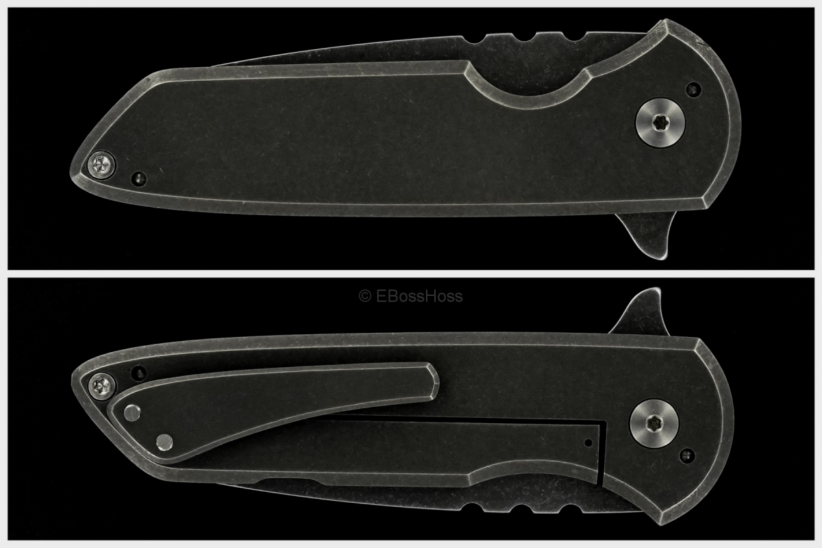 Brad Blount (JBB Knives) Custom Small Arrestor Flipper
