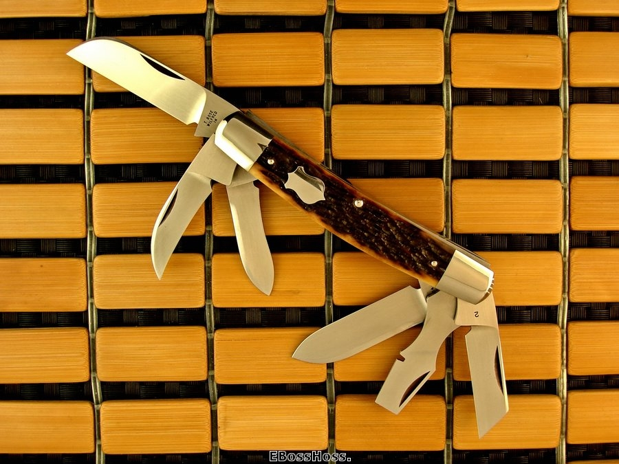 Tony Bose 6-Blade Congress Remington Bone
