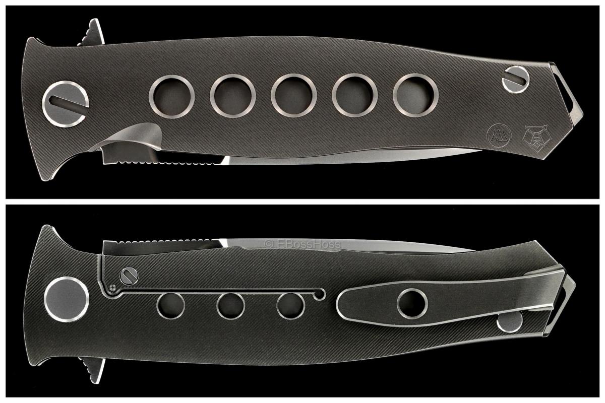 Sergey Shirogorov / Tom Mayo Limited Edition Russian Dr. Death Flipper Collab