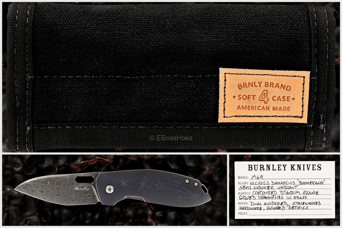 Lucas Burnley Custom M69 Semi Skinner Variant Flicker