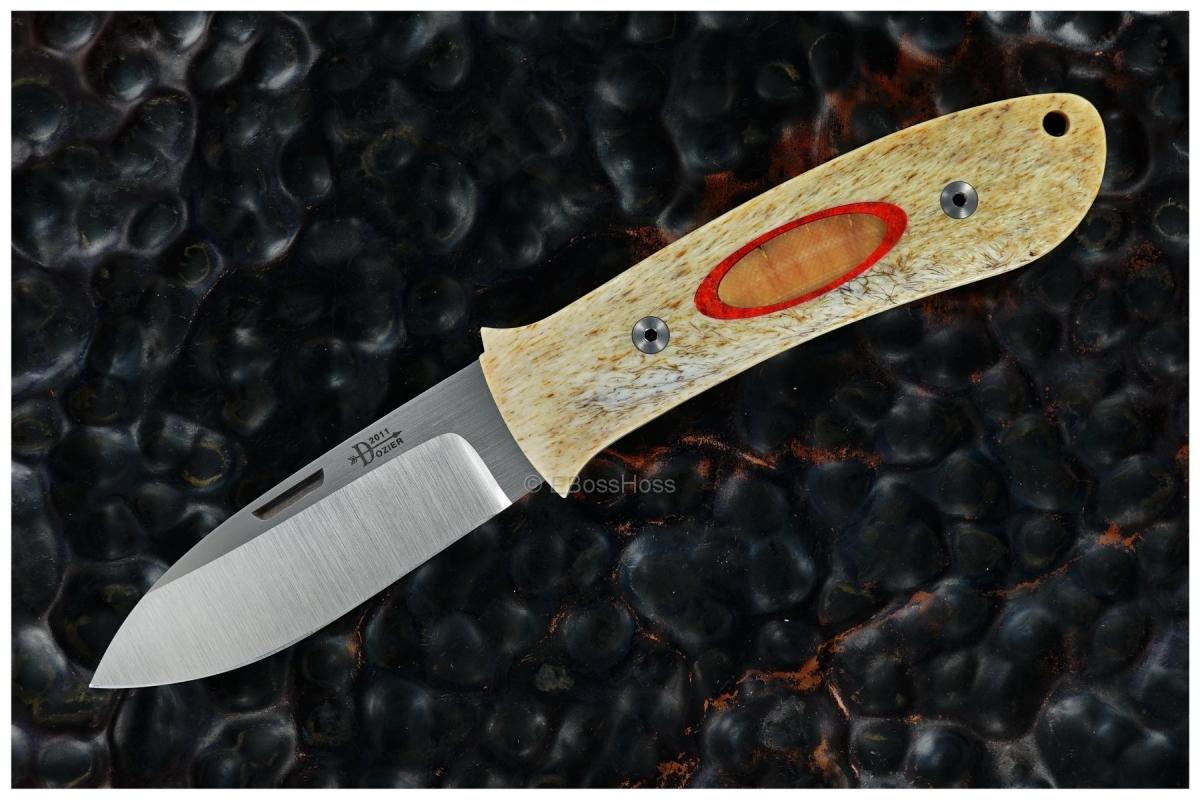 Bob Dozier Custom Deluxe Large Slip Joint Folding Hunter (DK-SJ)