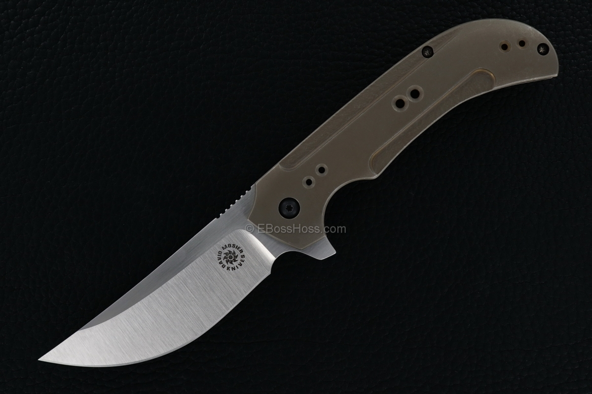 David Mosier / Sean Kendrick Custom Serpent Line Framelock Flipper w/ IKBS